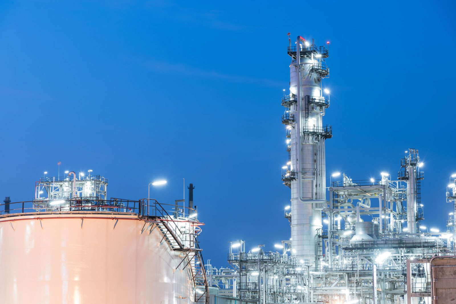 Oil industry refinery factory